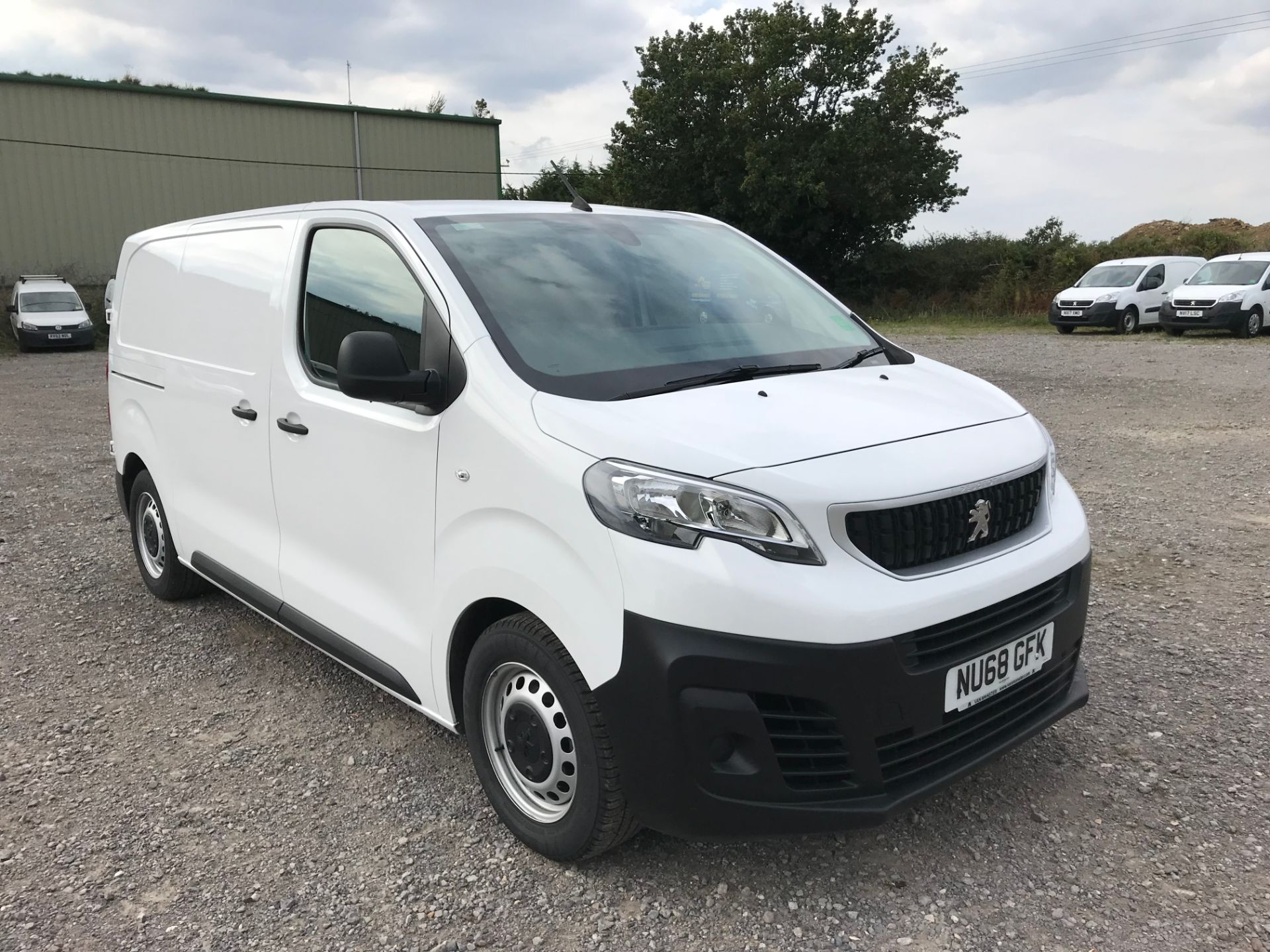 2018 Peugeot Expert 1000 1.6 Bluehdi 95 Professional Van (NU68GFK)