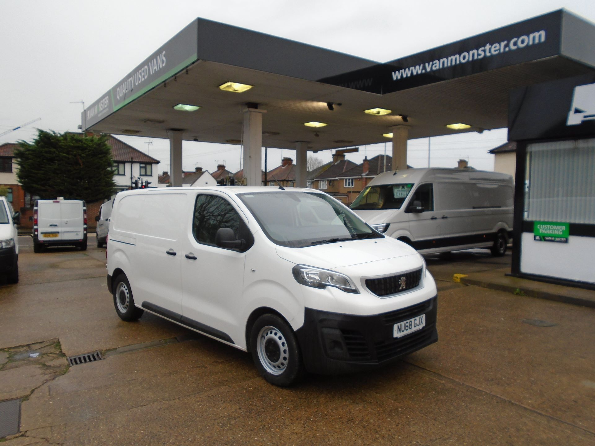 2018 Peugeot Expert 1000 1.6 Bluehdi 95 Professional Van(EURO 6) (NU68GJX)