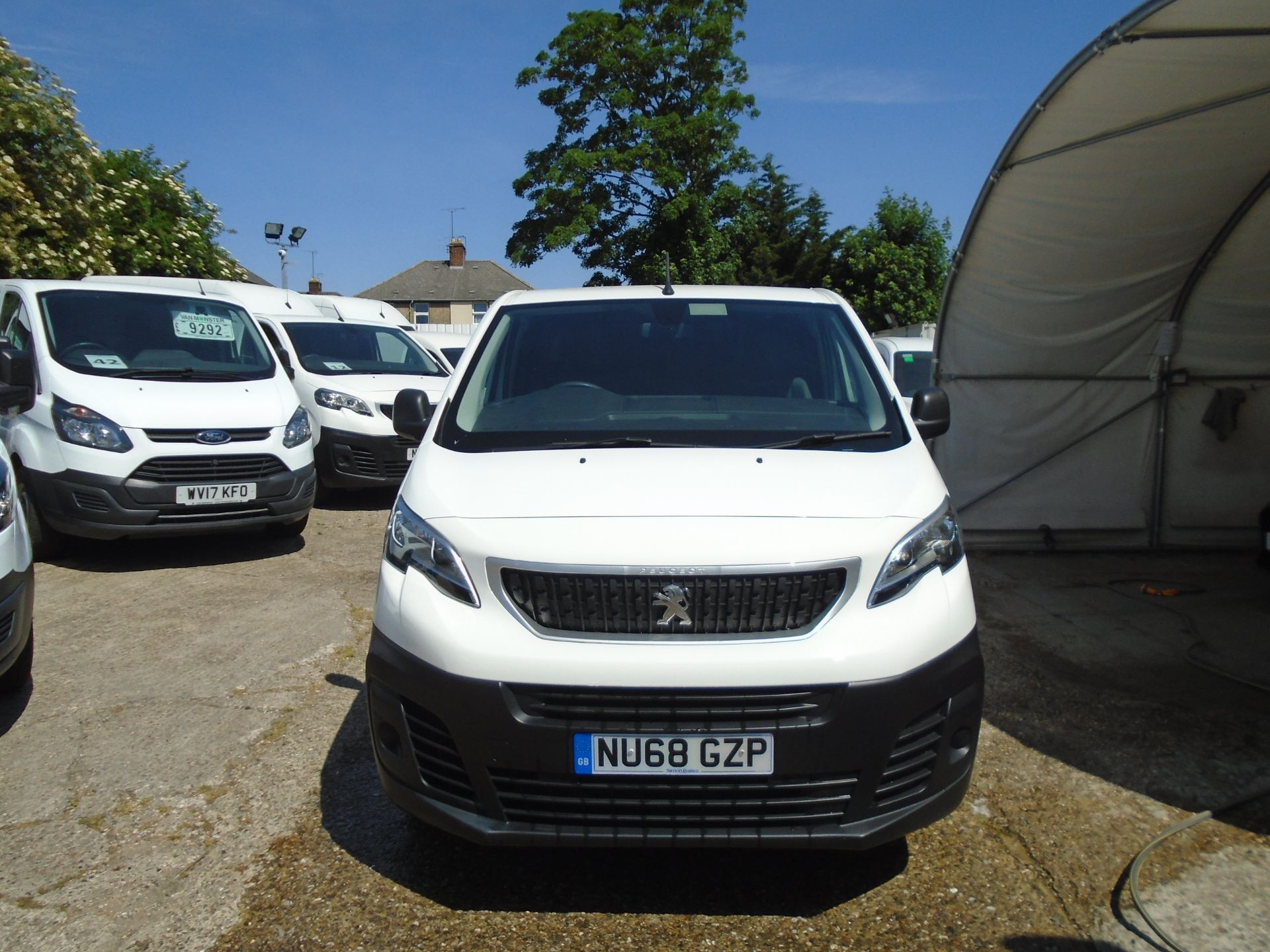 2018 Peugeot Expert 1000 1.6 Bluehdi 95 Professional Van (NU68GZP) Image 2