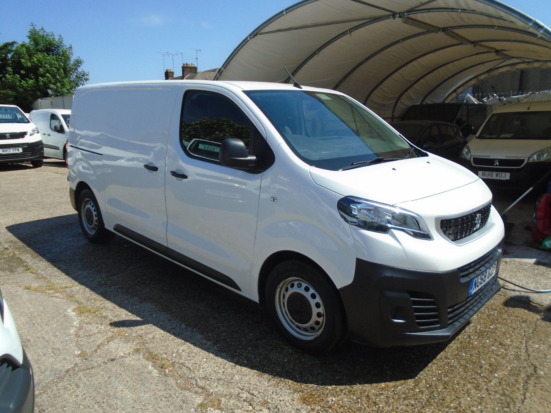 2018 Peugeot Expert 1000 1.6 Bluehdi 95 Professional Van (NU68GZP)