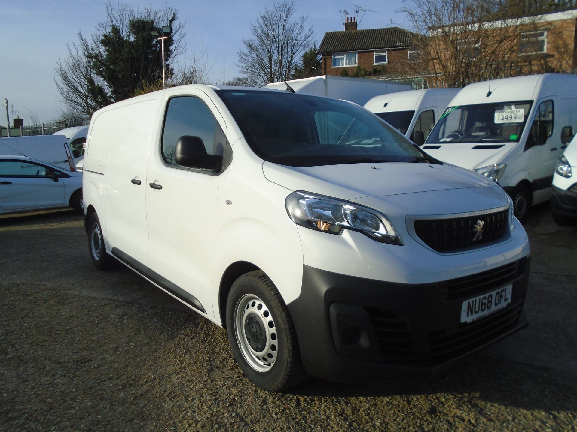 2018 Peugeot Expert 1000 1.6 Bluehdi 95 Professional Van (NU68OFL)