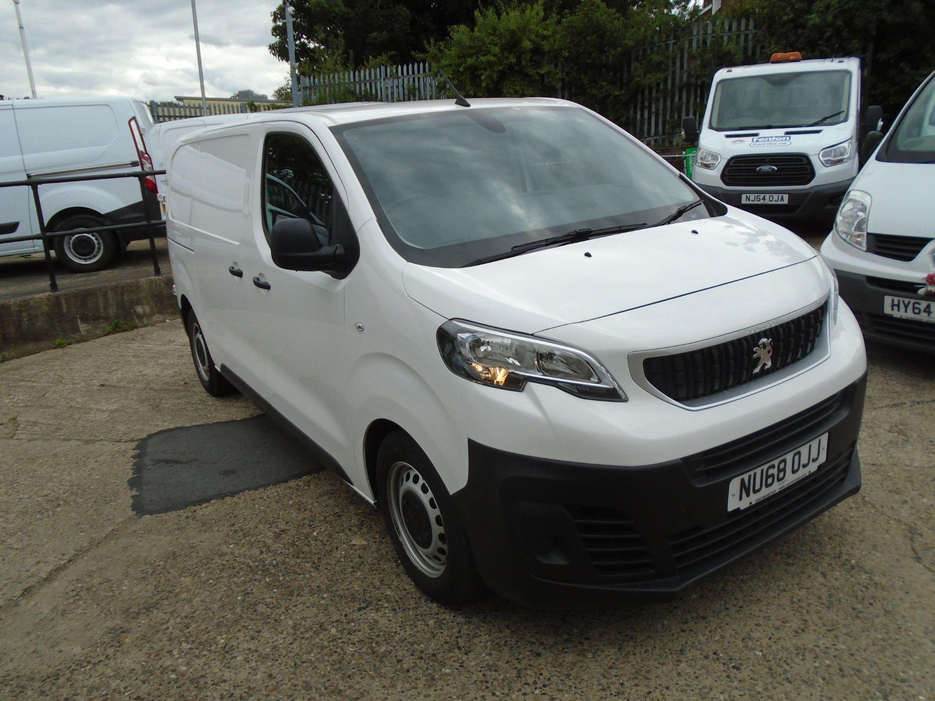 2018 Peugeot Expert 1000 1.6 Bluehdi 95 Professional Van (NU68OJJ)