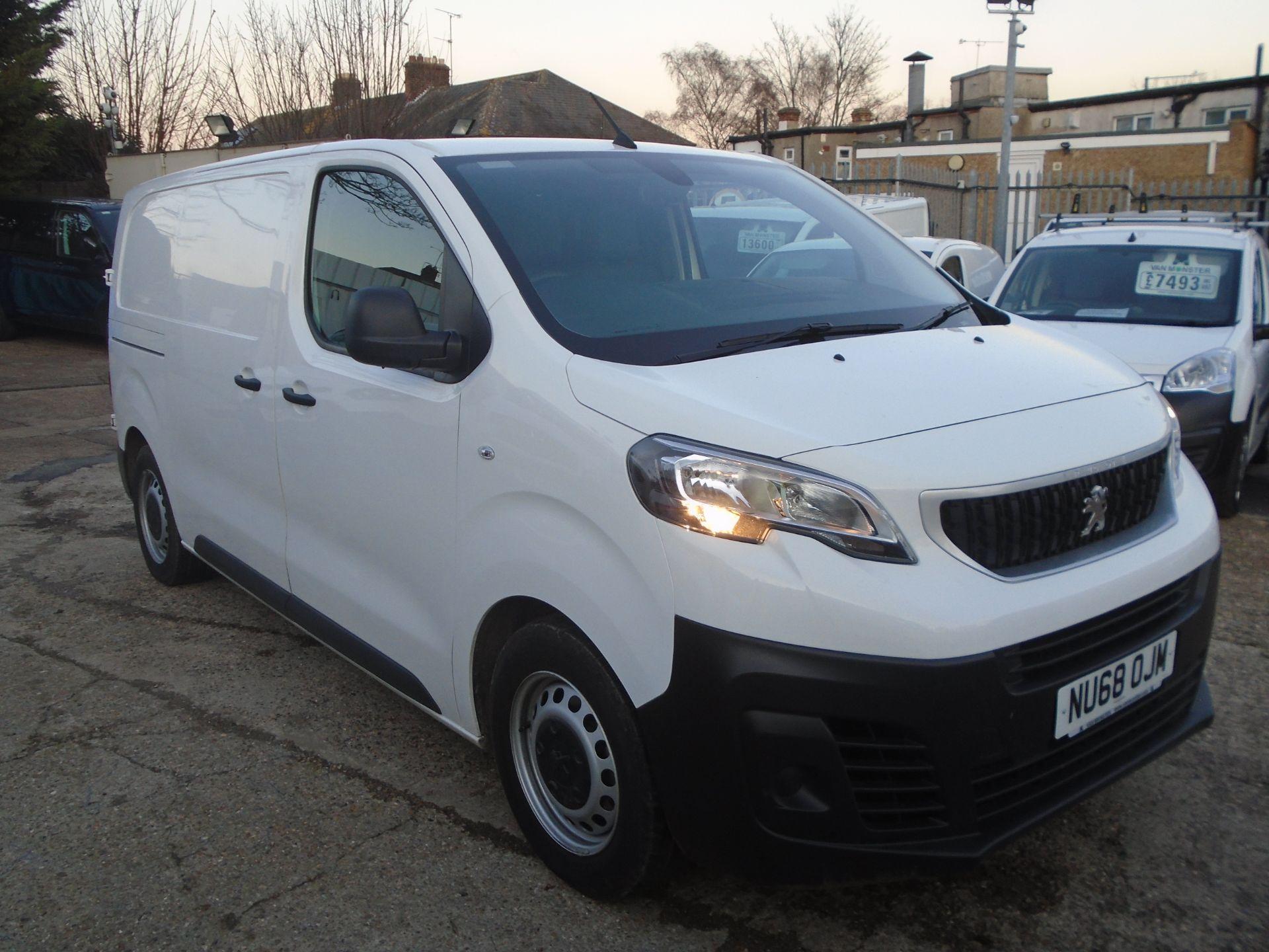 2018 Peugeot Expert 1000 1.6 Bluehdi 95 Professional Van (NU68OJM) Image 1
