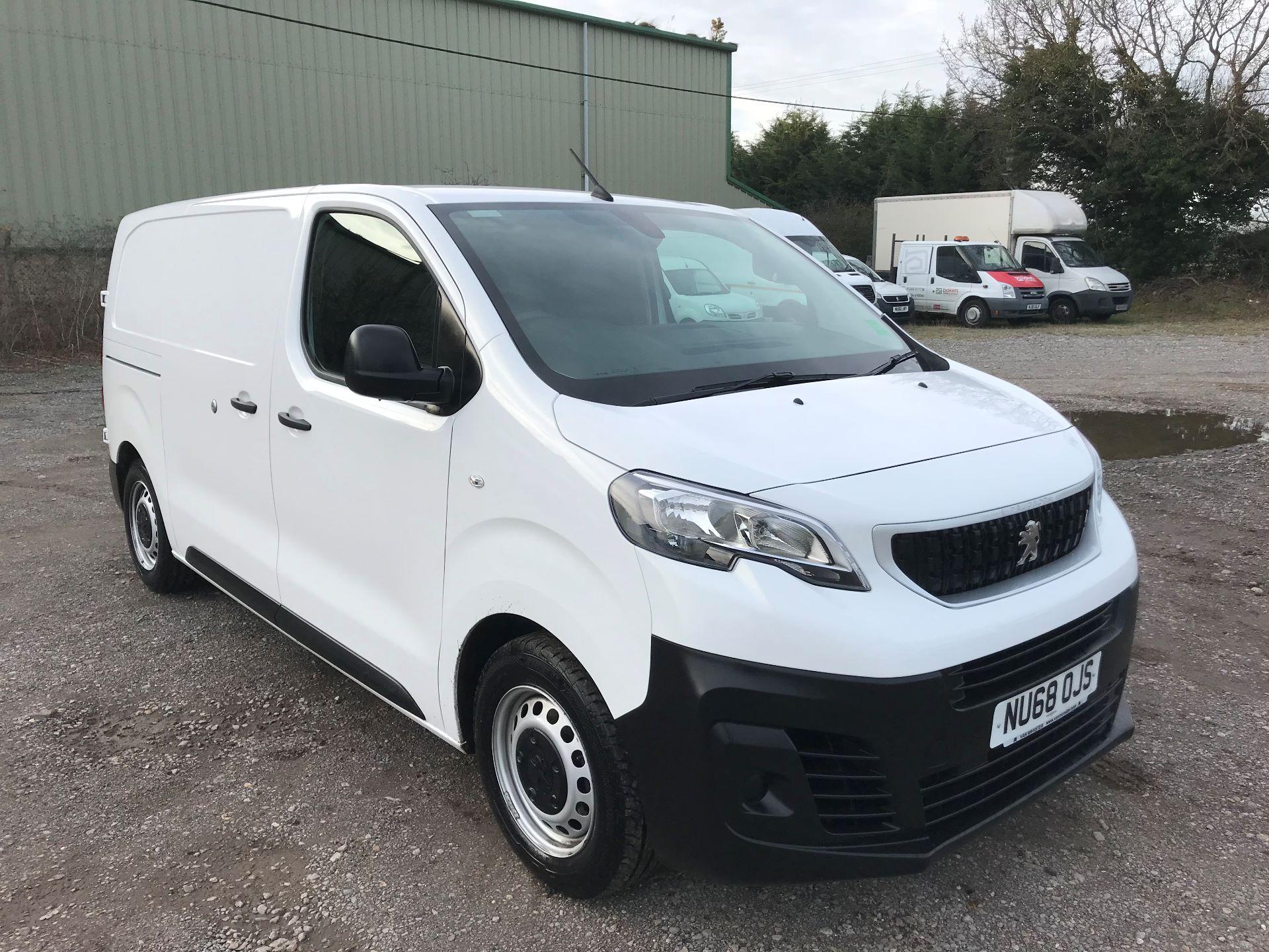 2018 Peugeot Expert 1000 1.6 Bluehdi 95 Professional Van (NU68OJS)