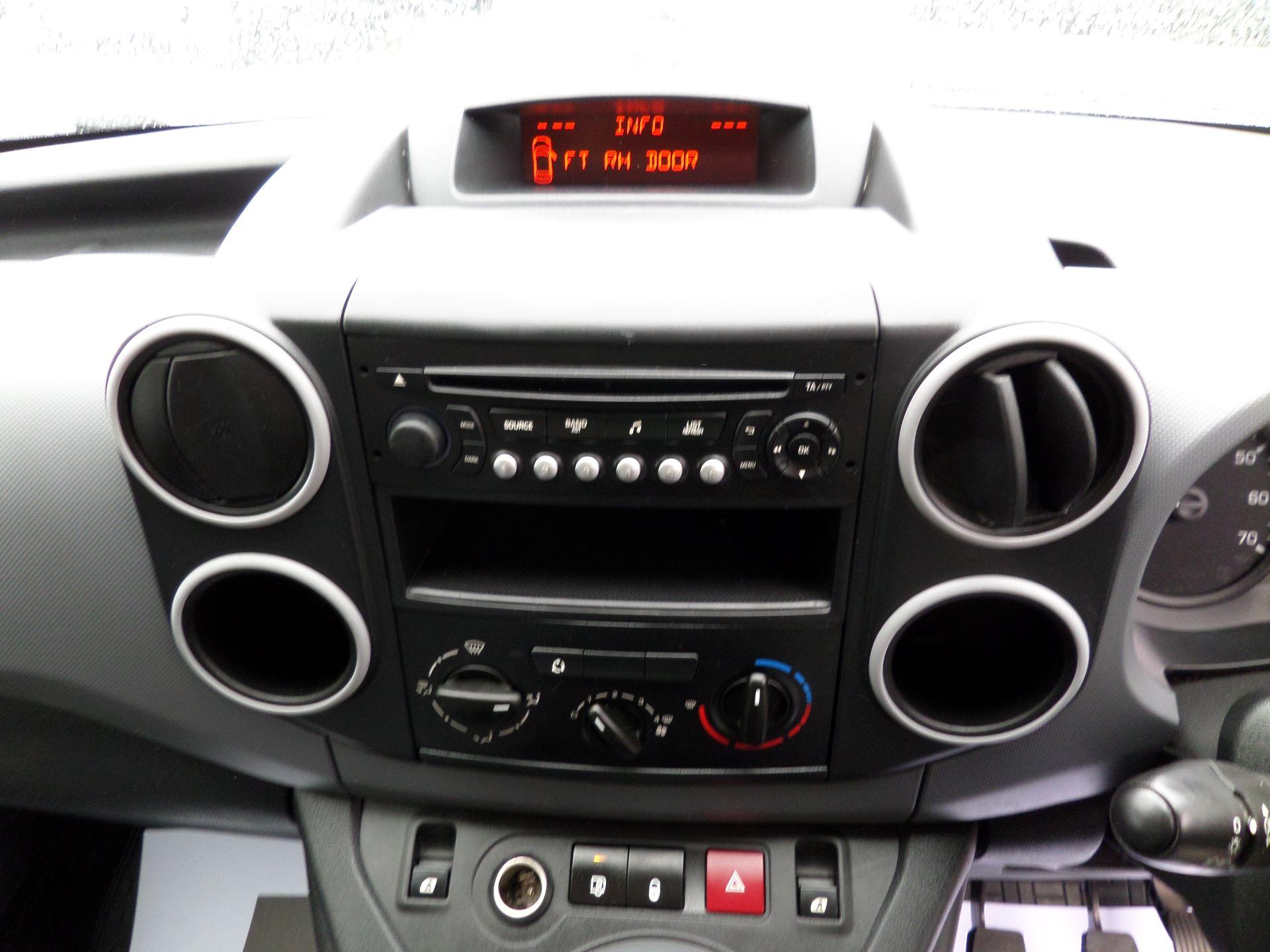 2014 Peugeot Partner 850 S 1.6 Hdi 92 Van [Sld] Euro 5 (NV14CRJ) Image 3