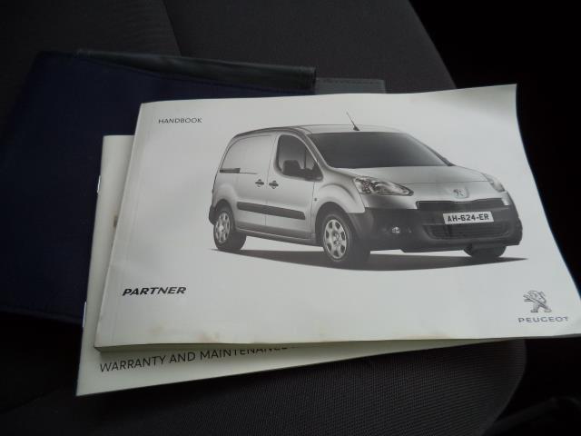 2014 Peugeot Partner L1 850 S 1.6HDI 92PS (SLD) EURO 5 (NV14CUK) Image 20
