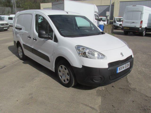 2014 Peugeot Partner L2 716 S 1.6 Hdi 92 Crew Van (NV14EUN)