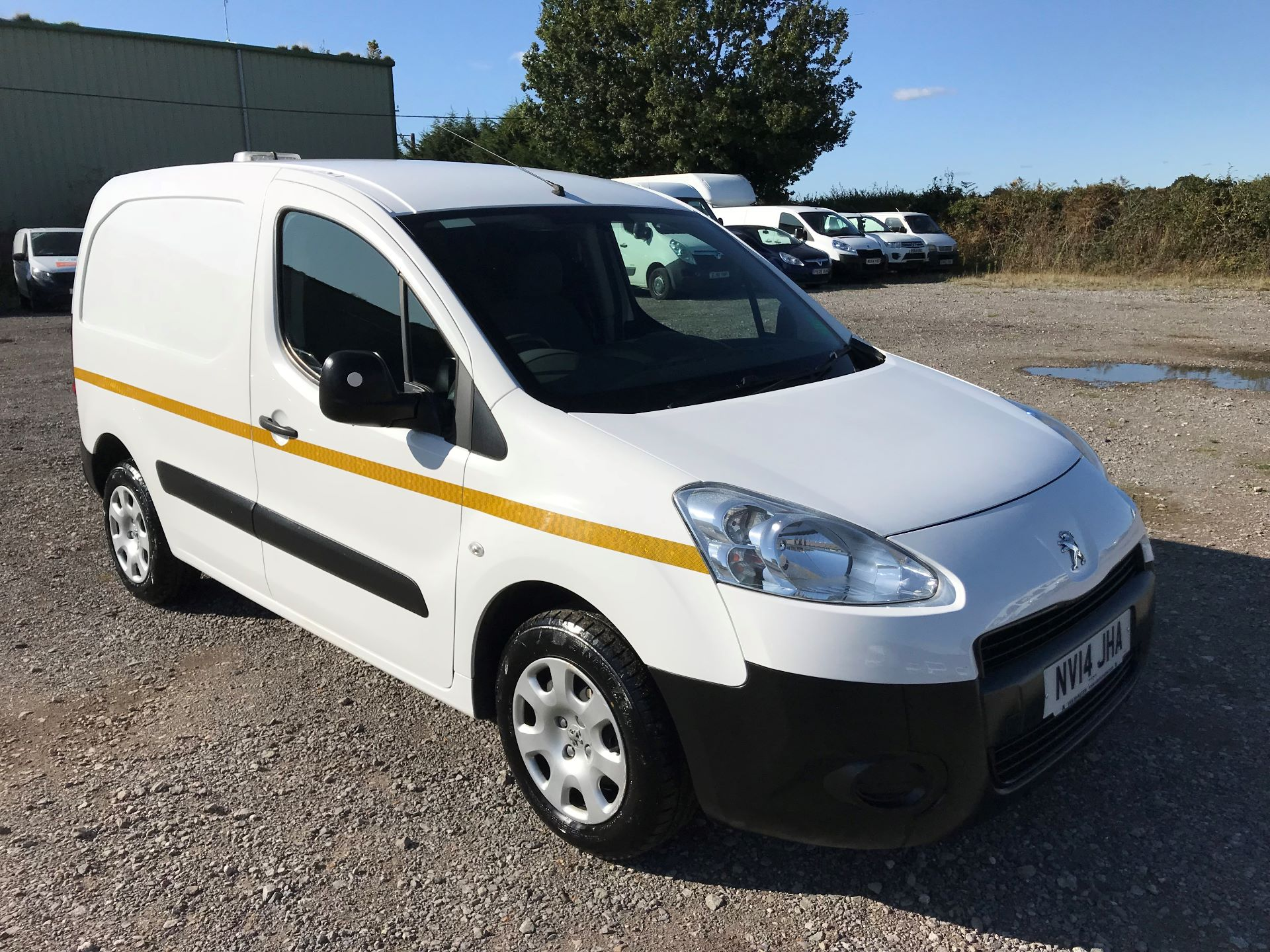 2014 Peugeot Partner L1 850 S 1.6 92PS (SLD) EURO 5 (NV14JHA)
