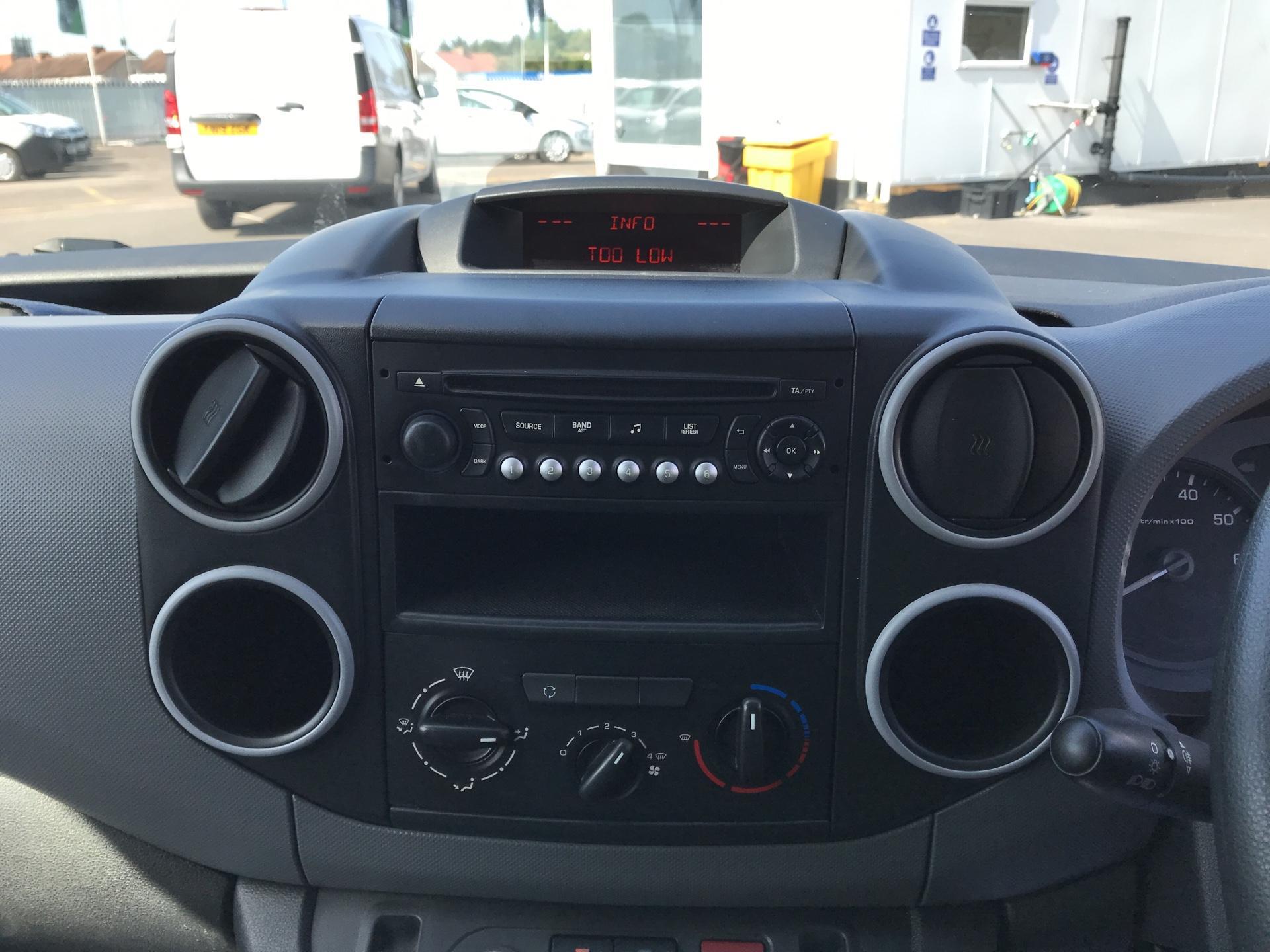 2015 Peugeot Partner  L1 850 1.6 92PS (SLD) EURO 5  (NV15FAO) Image 10