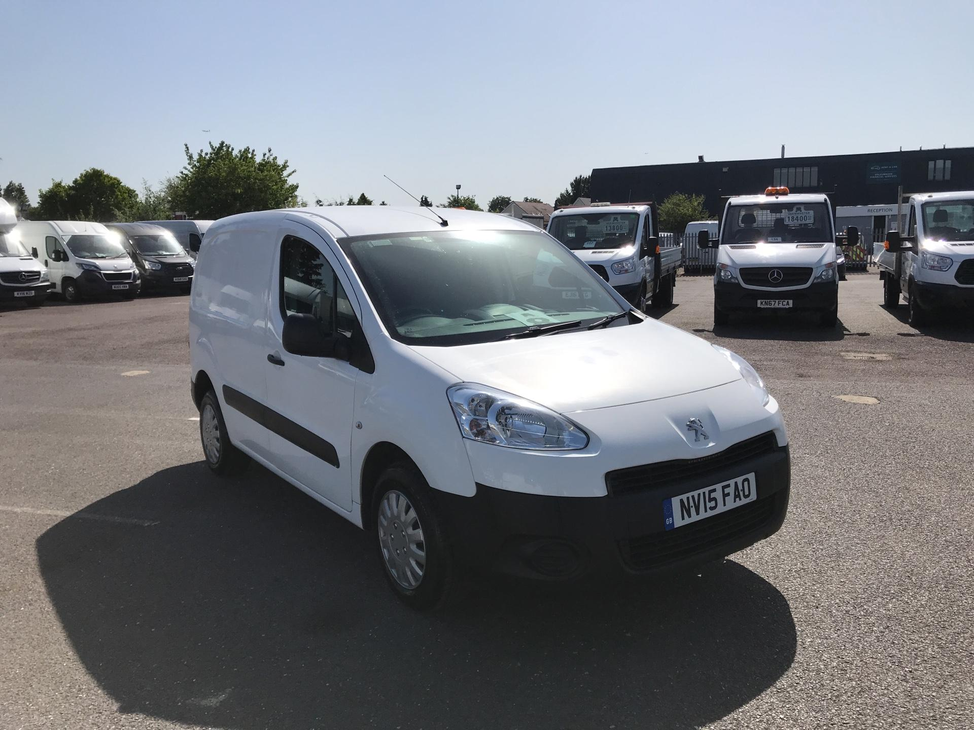 2015 Peugeot Partner  L1 850 1.6 92PS (SLD) EURO 5  (NV15FAO)