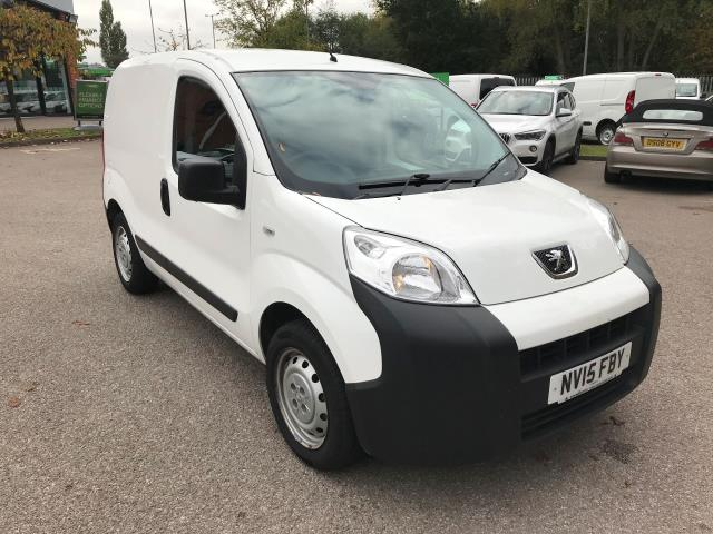 2015 Peugeot Bipper 1.3 HDI 75 S PLUS PACK NON S/S EURO 5 (NV15FBY)