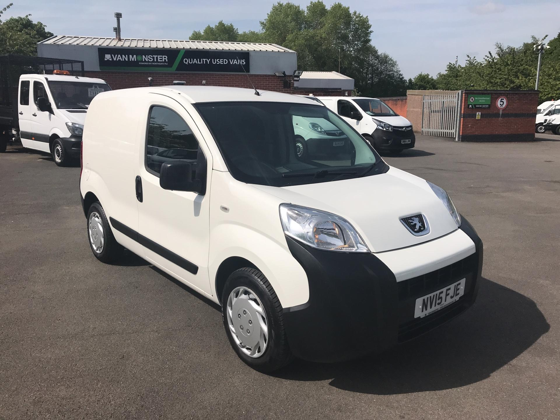 2015 Peugeot Bipper 1.3 HDI 75 S PLUS PACK NON S/S EURO 5 (NV15FJE)