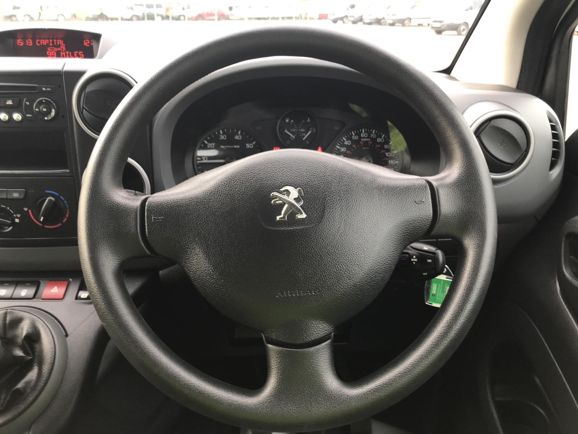 2015 Peugeot Partner L2 716 1.6 92 CREW VAN EURO 5 (NV15HRD) Image 12