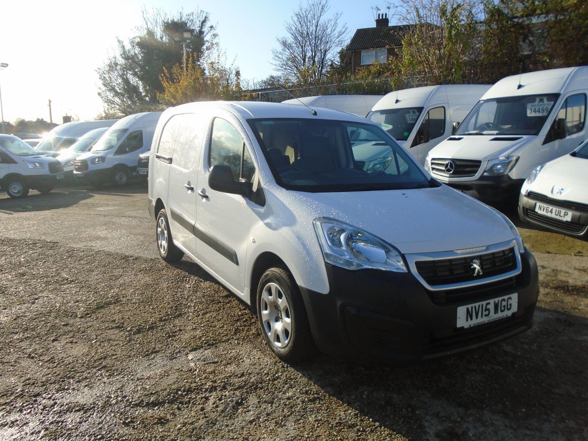 2015 Peugeot Partner 716 S 1.6 Hdi 92 Crew Van (NV15WGG)