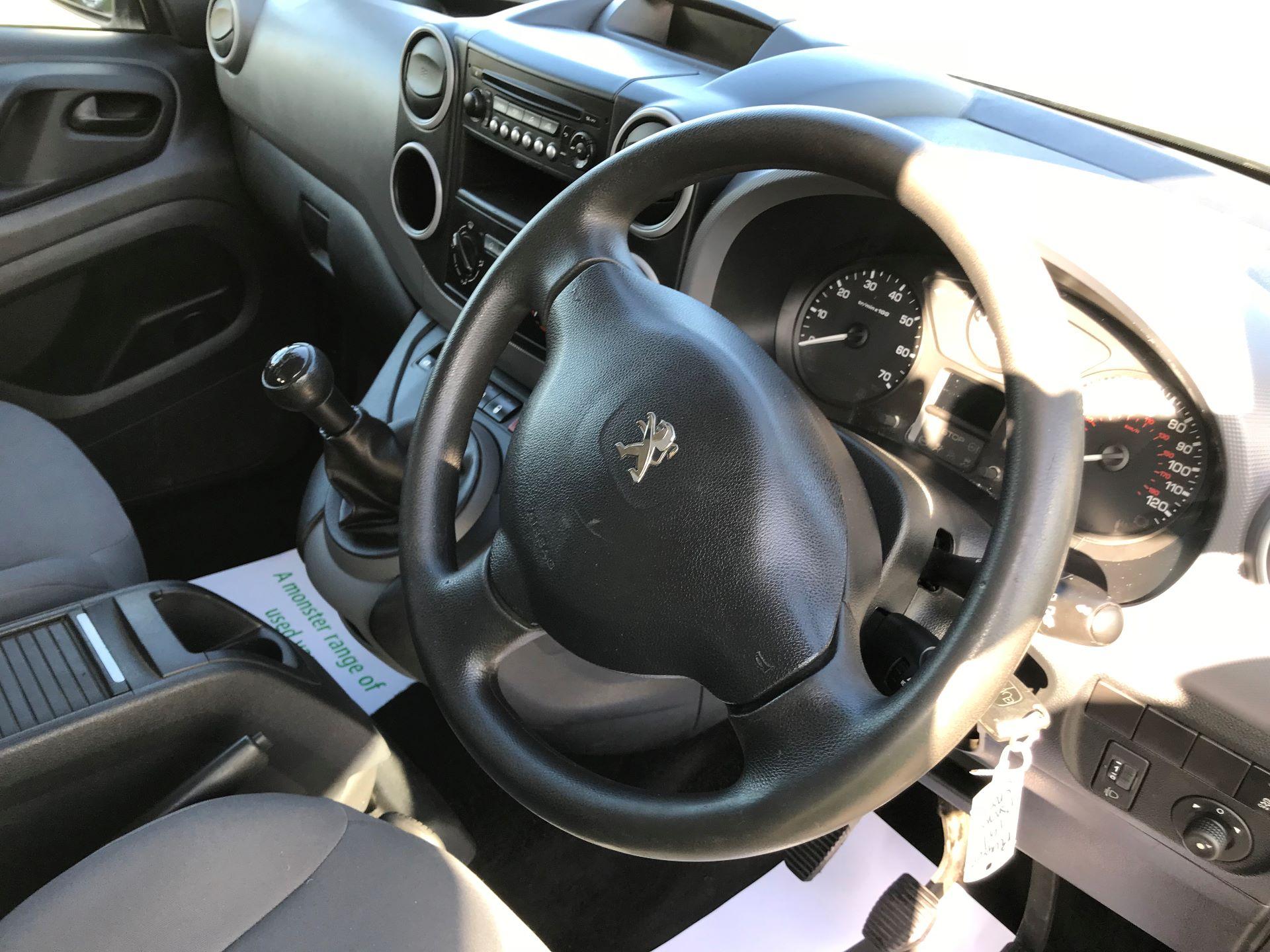 2016 Peugeot Partner L2 715 S 1.6 92PS CREW VAN EURO 5 (NV16AWF) Image 19