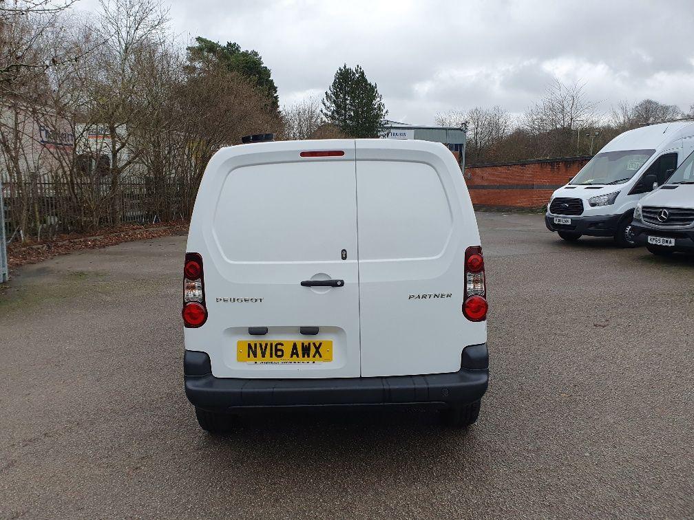 2016 Peugeot Partner 850 S 1.6 Hdi 92 Van [Sld] (NV16AWX) Image 10