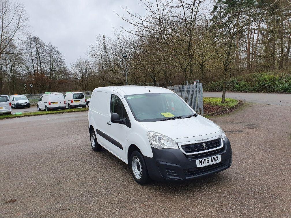 2016 Peugeot Partner 850 S 1.6 Hdi 92 Van [Sld] (NV16AWX) Image 1