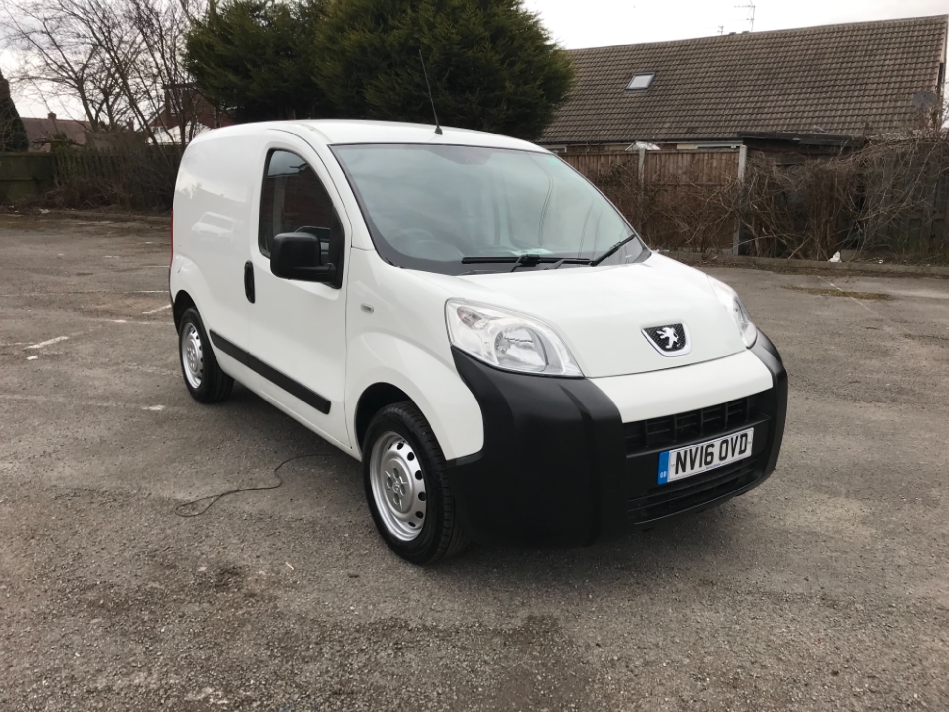 2016 Peugeot Bipper 1.3 Hdi 75 S Plus Pack [Sld] EURO 5  (NV16OVD)