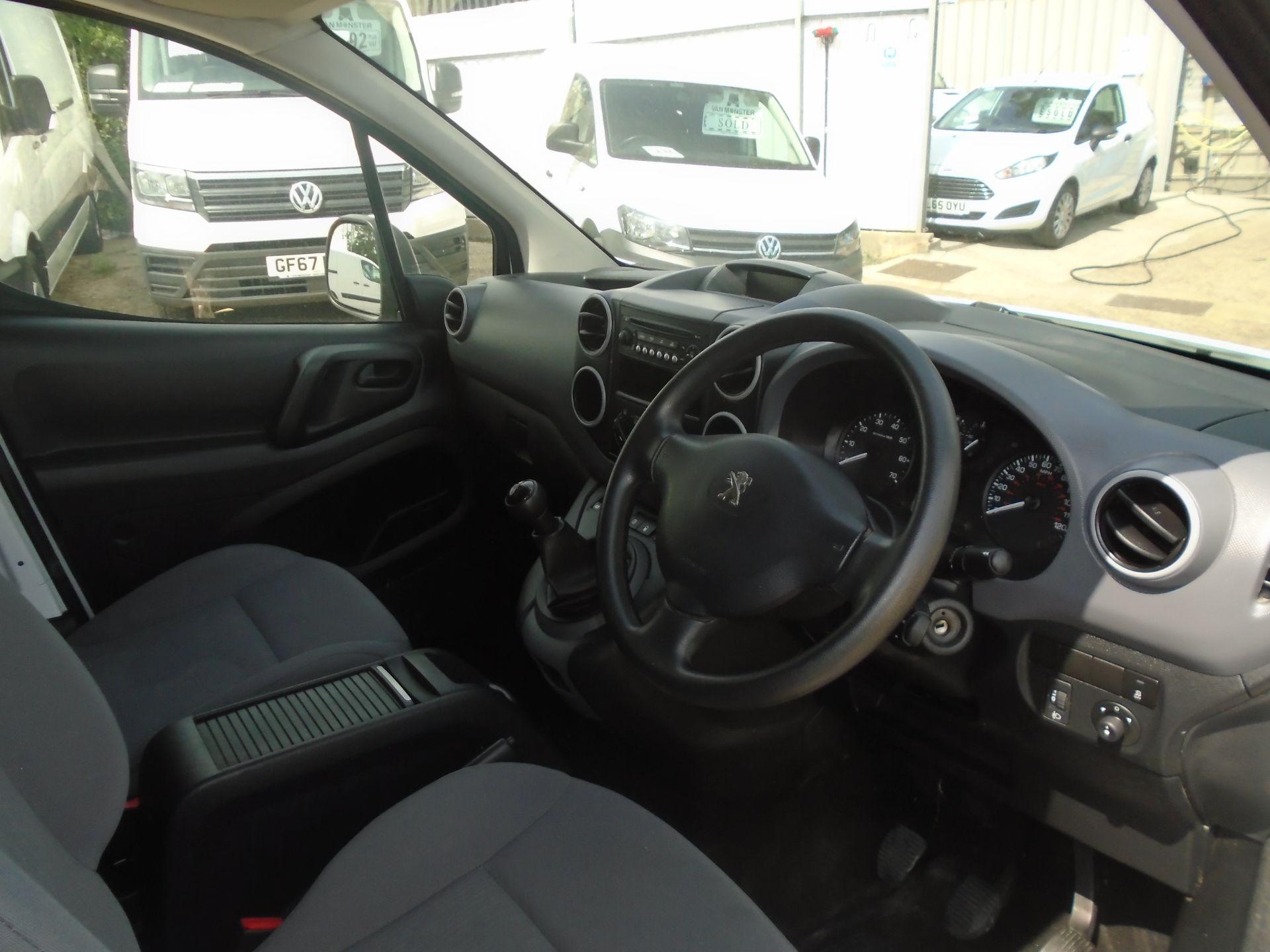 2016 Peugeot Partner 850 S 1.6 Hdi 92 Van [Sld] (NV16OVZ) Image 14