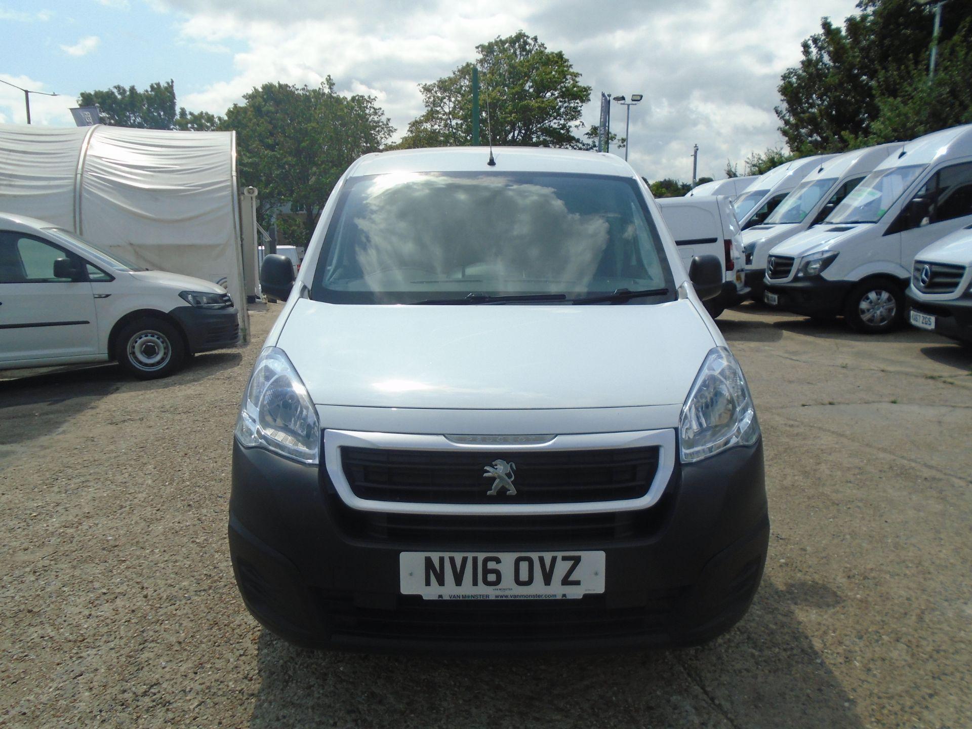 2016 Peugeot Partner 850 S 1.6 Hdi 92 Van [Sld] (NV16OVZ) Image 2