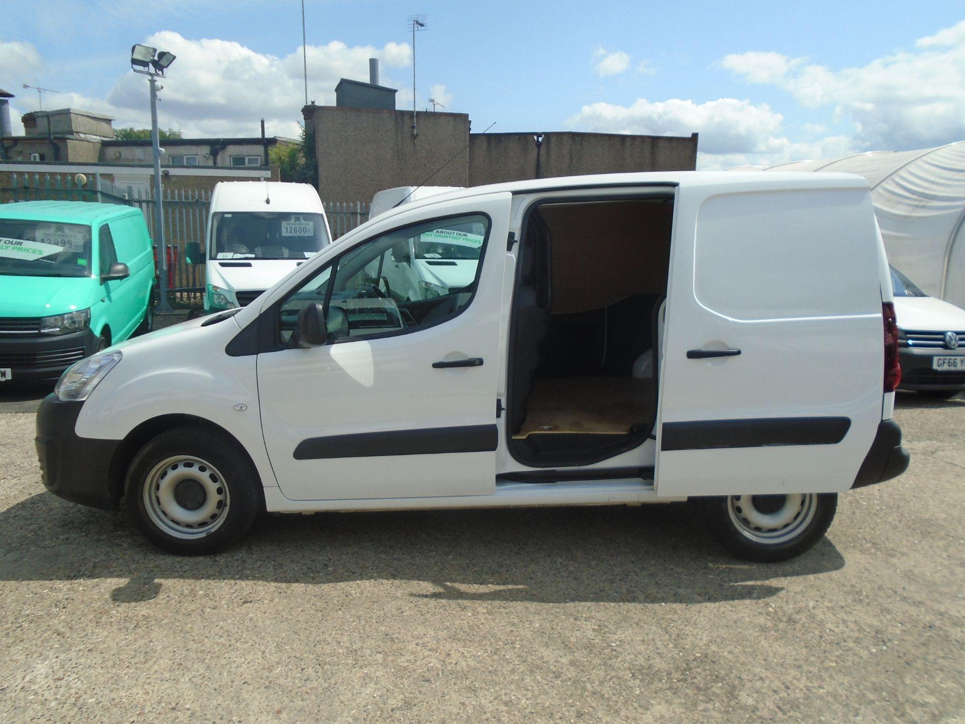 2016 Peugeot Partner 850 S 1.6 Hdi 92 Van [Sld] (NV16OVZ) Image 8