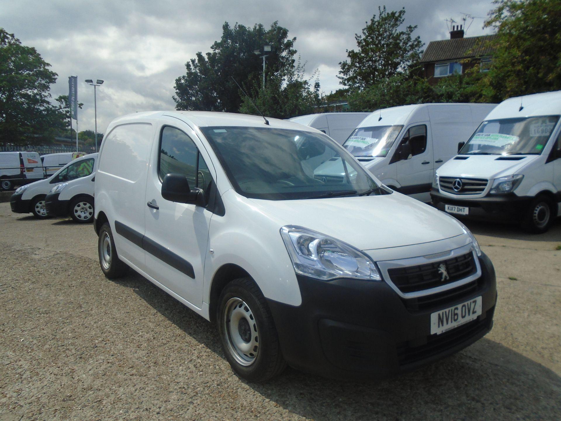 2016 Peugeot Partner 850 S 1.6 Hdi 92 Van [Sld] (NV16OVZ) Image 1