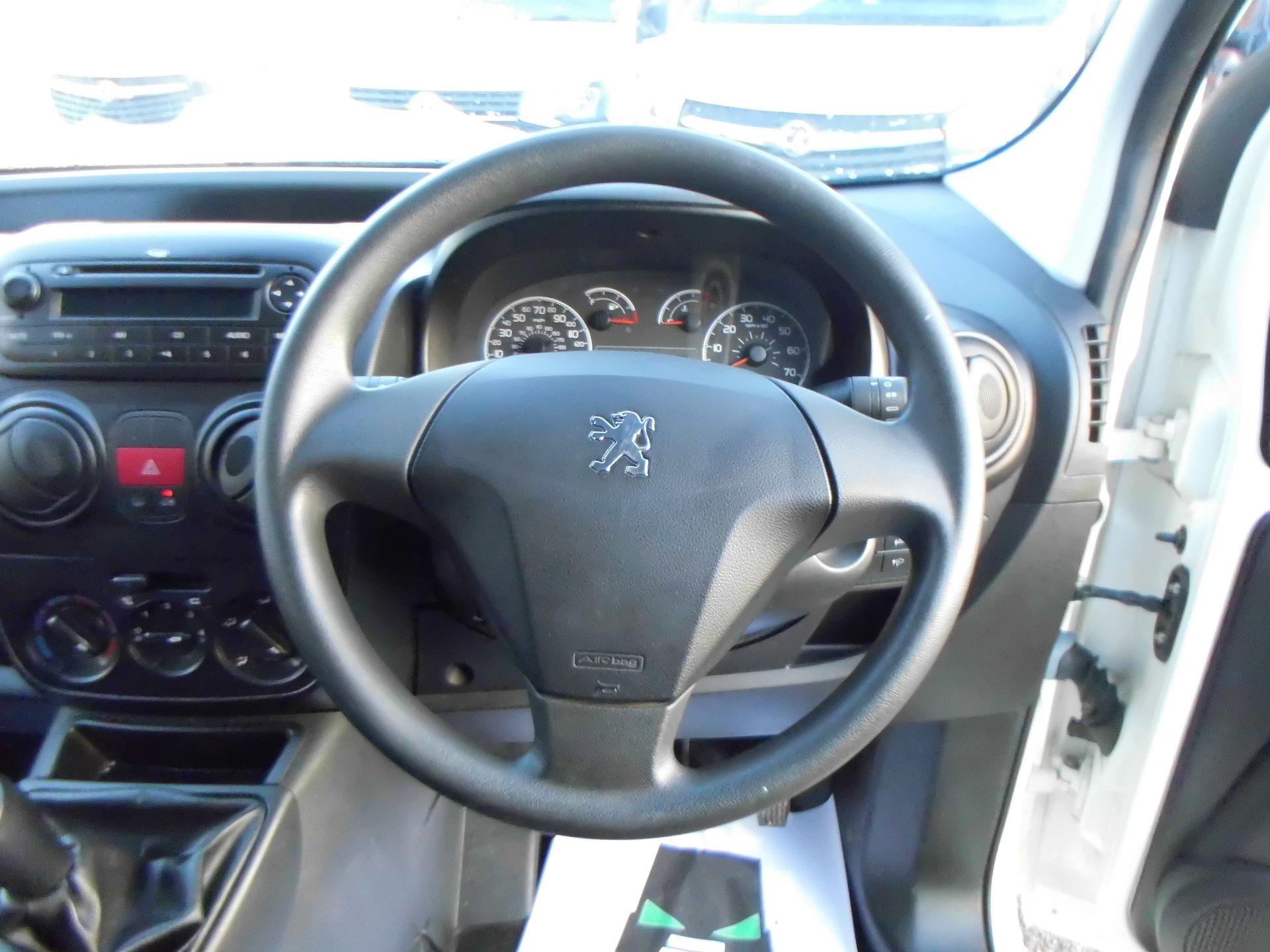 2016 Peugeot Bipper  1.3 HDI 75 S NON S/S  EURO 5 (NV16XHB) Image 9