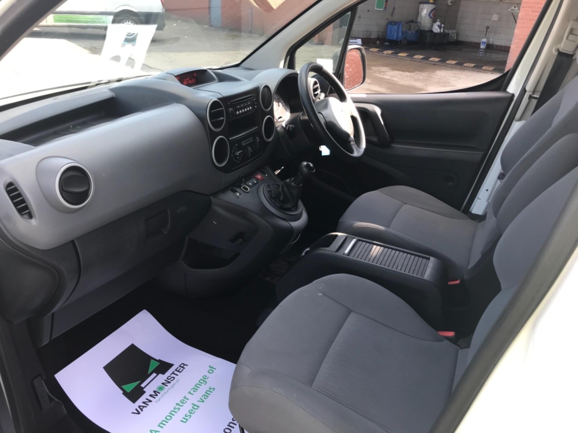 2016 Peugeot Partner 850 S 1.6 Hdi 92 Van [Sld] Euro 5 (NV16XVR) Image 10