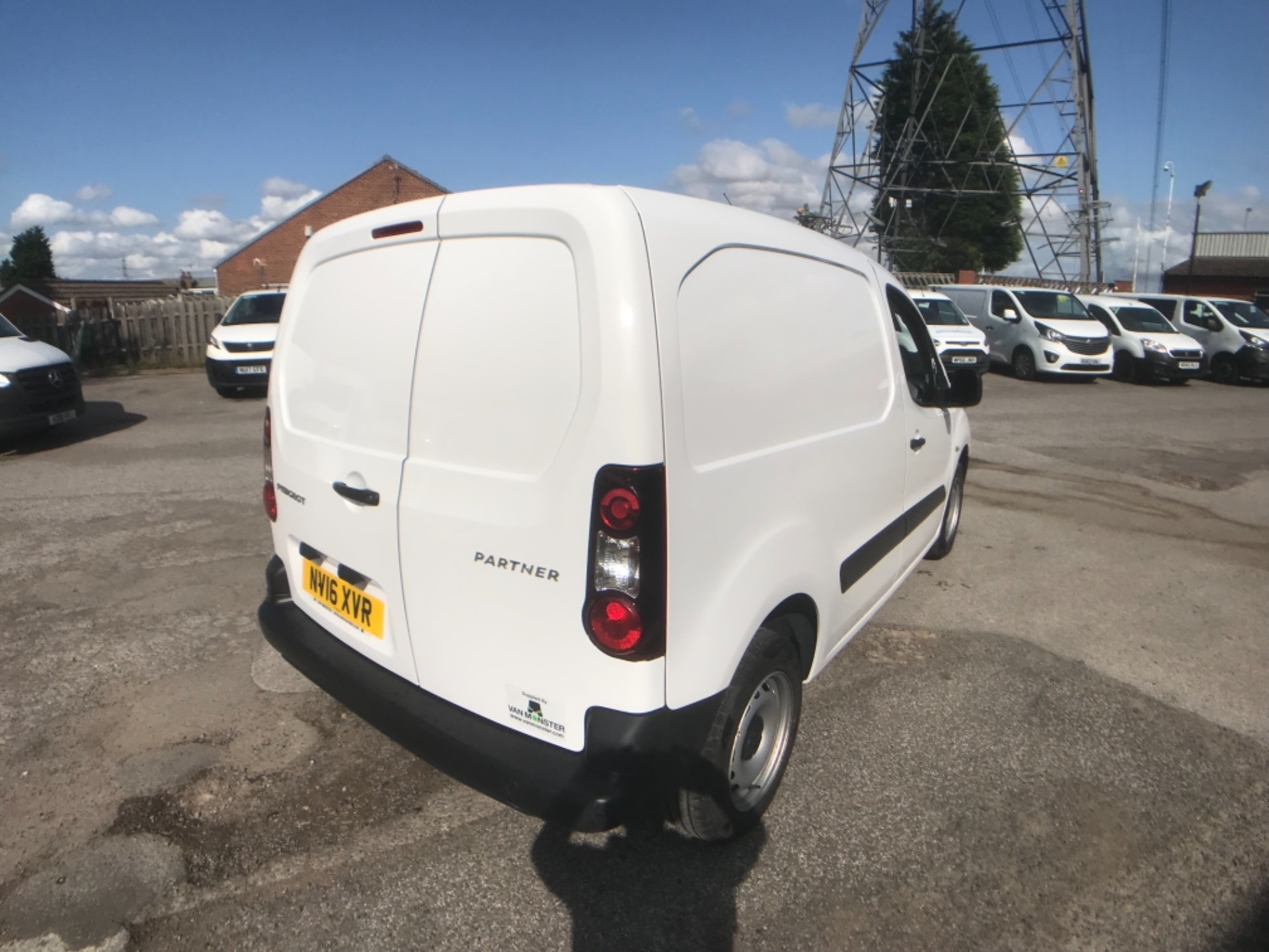2016 Peugeot Partner 850 S 1.6 Hdi 92 Van [Sld] Euro 5 (NV16XVR) Image 5