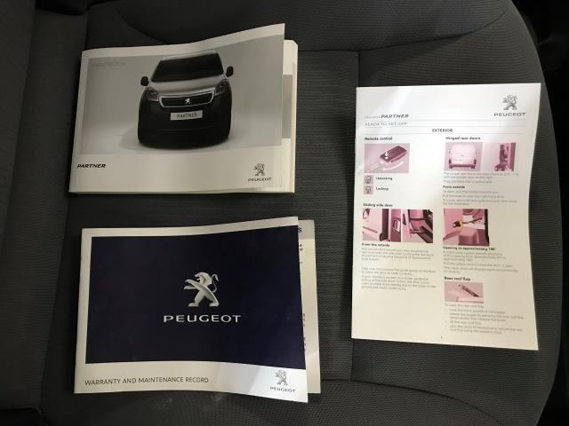 2016 Peugeot Partner L2 715 S 1.6 92PS CREW VAN EURO 5 (NV16YMY) Image 28