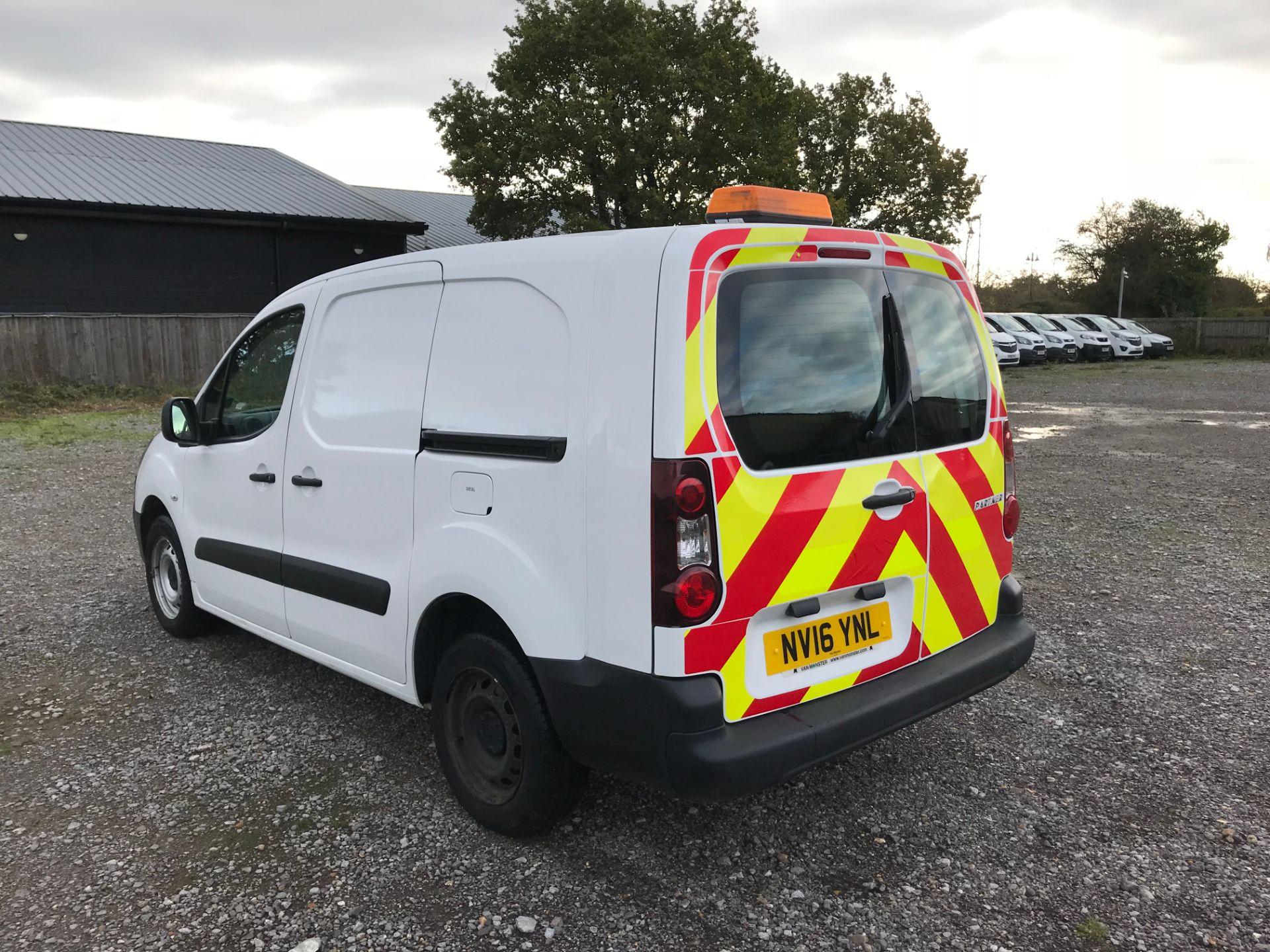 2016 Peugeot Partner 715 S 1.6 Hdi 92 Crew Van (NV16YNL) Image 6