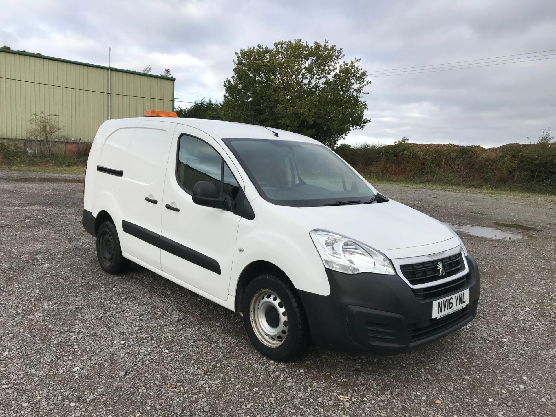 2016 Peugeot Partner 715 S 1.6 Hdi 92 Crew Van
