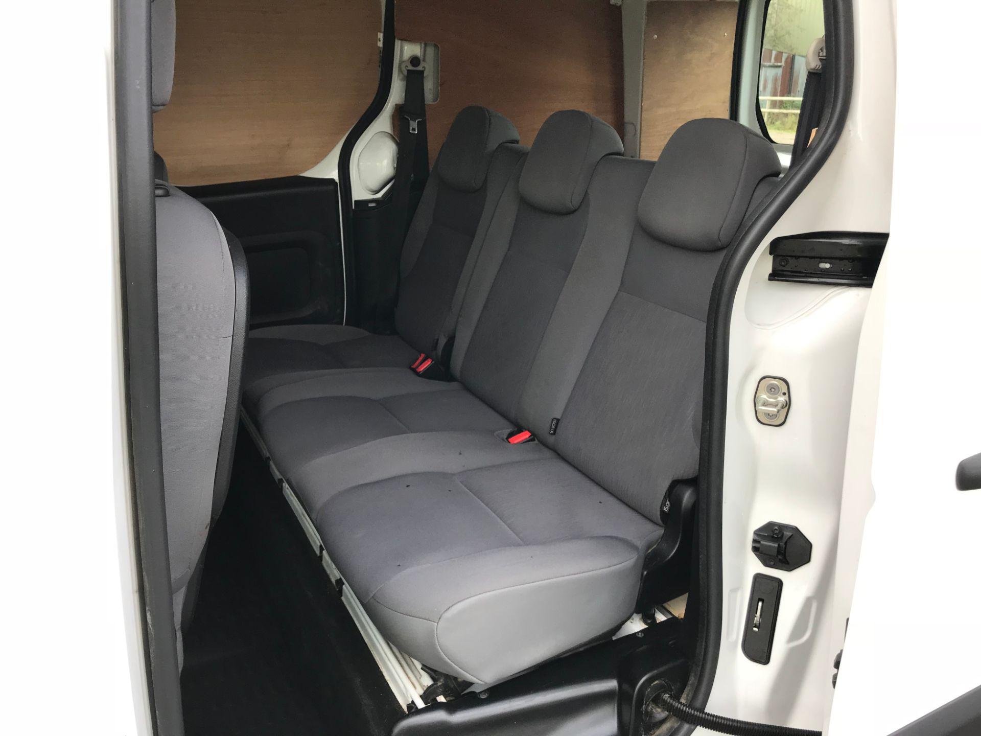 2016 Peugeot Partner 715 S 1.6 Hdi 92 Crew Van (NV16YNL) Image 11