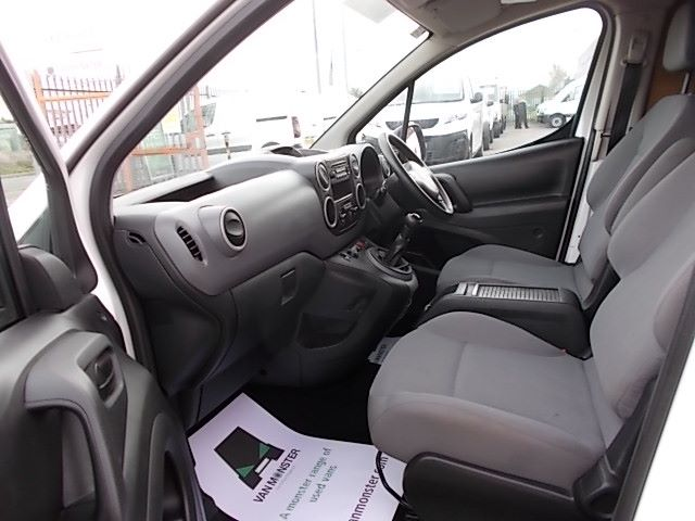 2016 Peugeot Partner L1 850 S 1.6 92PS [SLD] EURO 5 (NV16ZXC) Image 12
