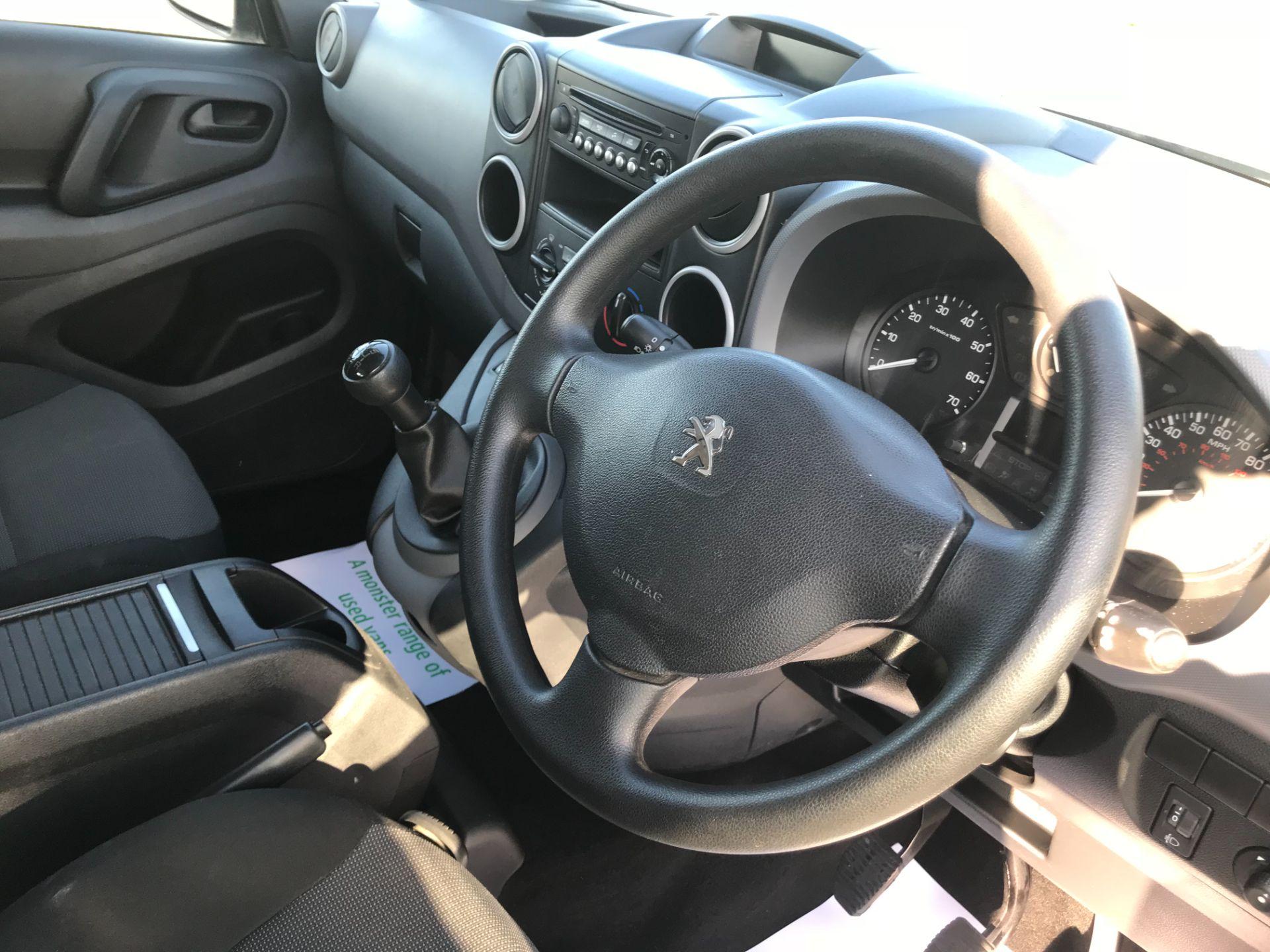2017 Peugeot Partner 715 S 1.6 Bluehdi 100 Crew Van (NV17DVJ) Image 22