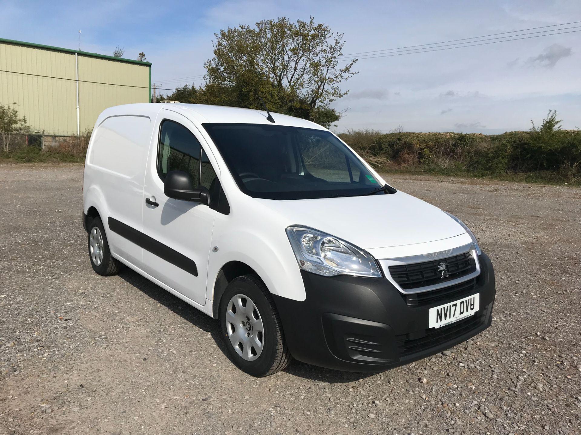 2017 Peugeot Partner 850 1.6 Bluehdi 100 Professional Van [Non Ss] EURO 6 (NV17DVU)