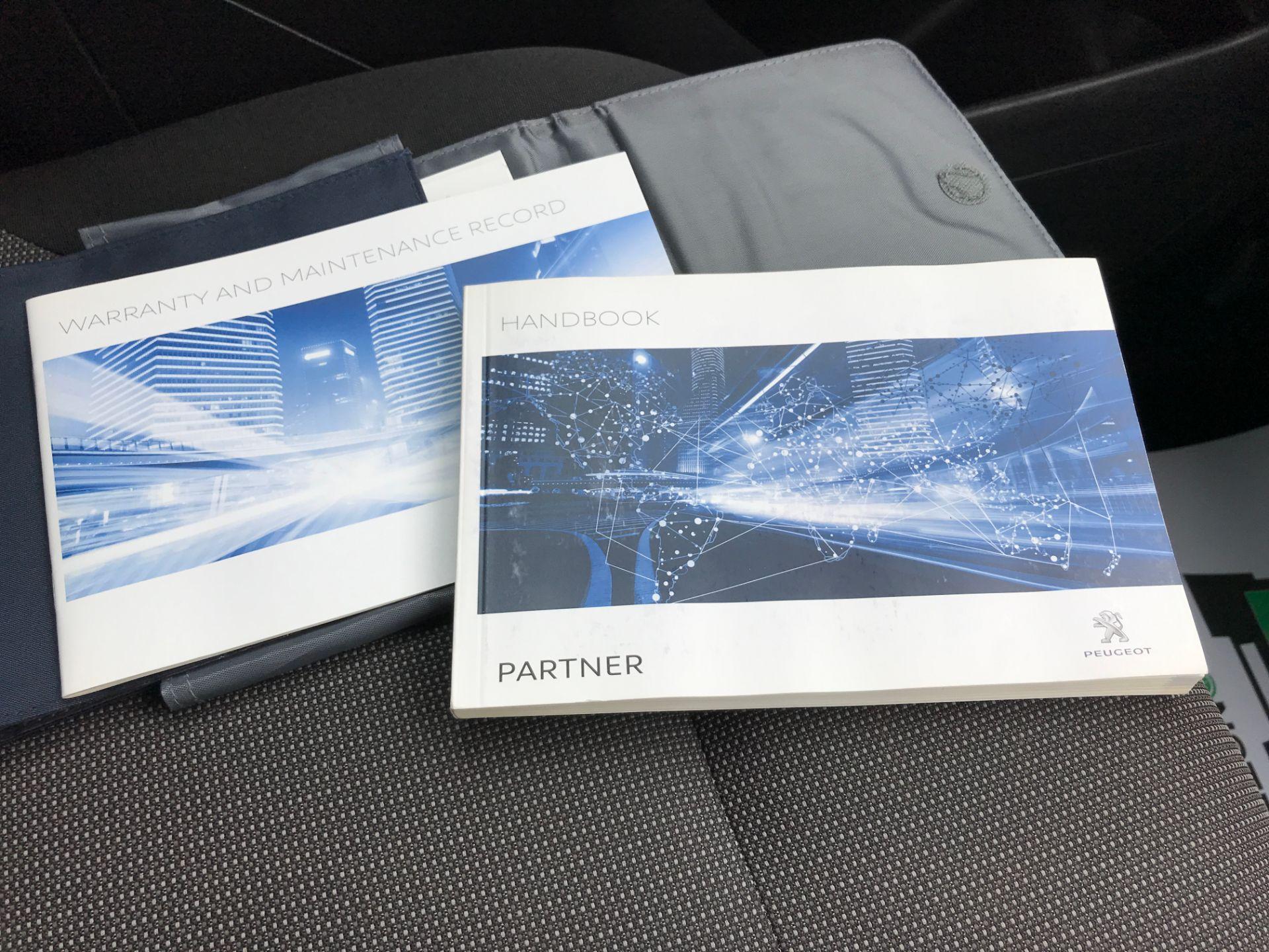 2017 Peugeot Partner L1 850 1.6BLUEHDI 100PS PROFESSIONAL EURO 6 (NV17DWF) Image 32