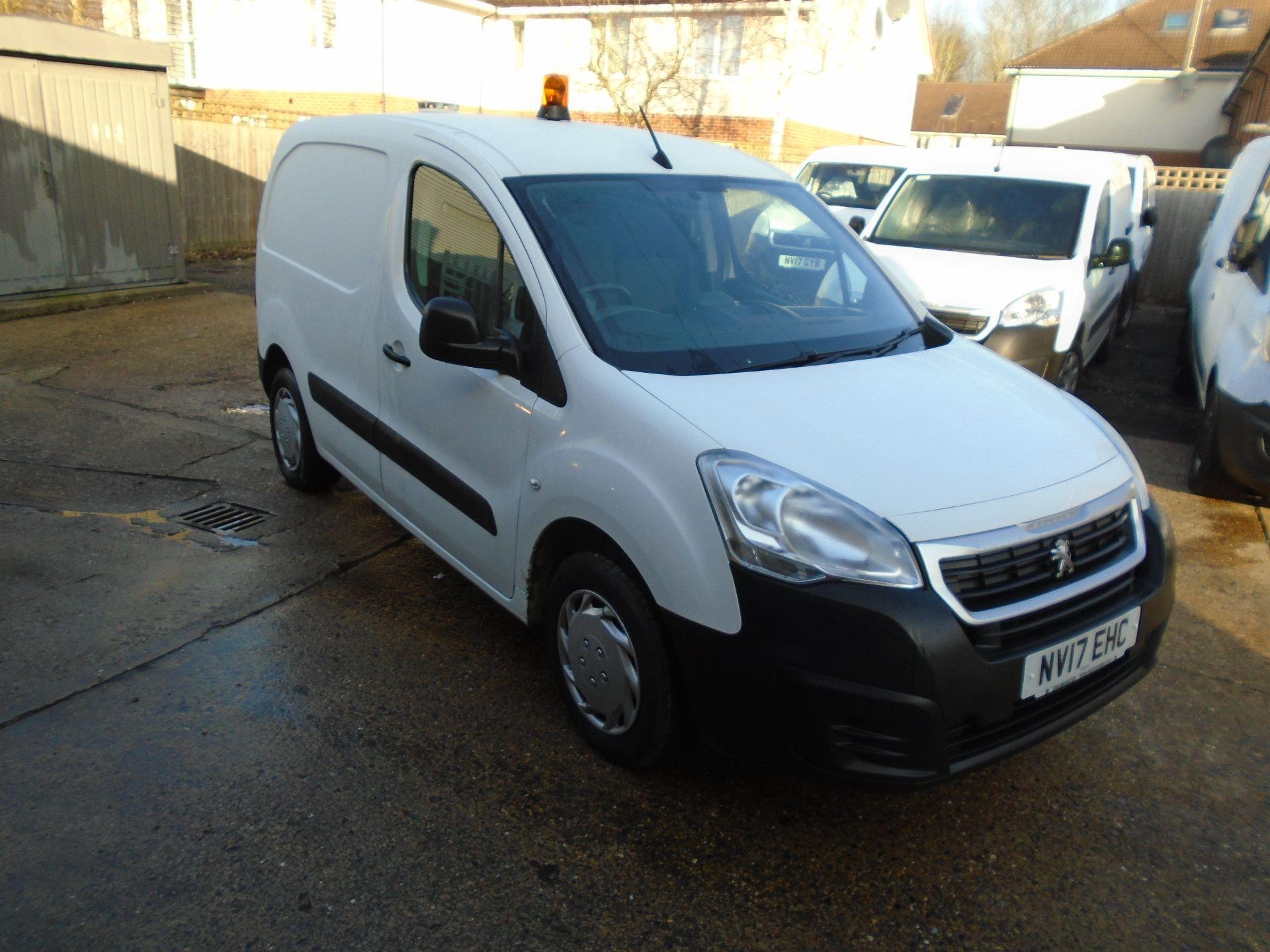 2017 Peugeot Partner 850 1.6 Bluehdi 100 Professional Van [Non Ss] (NV17EHC)