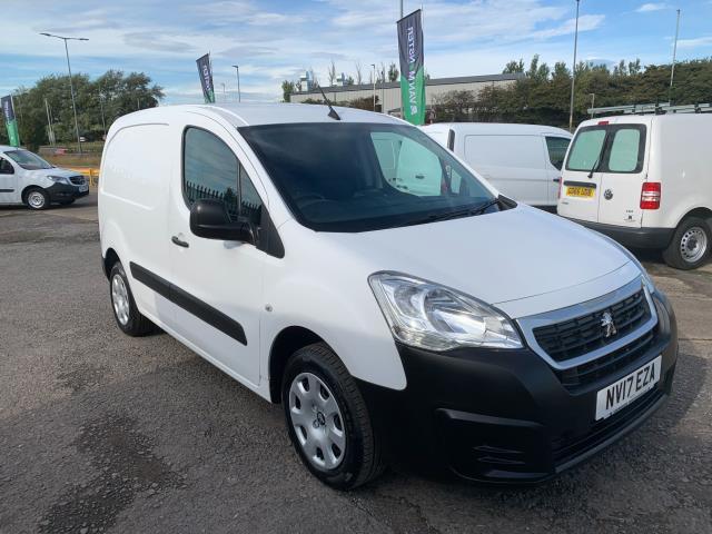 2017 Peugeot Partner 850 1.6 Bluehdi 100 Professional Van [Non Ss] (NV17EZA)