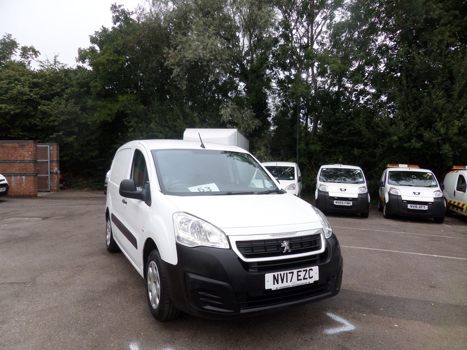 2017 Peugeot Partner 850 1.6 Bluehdi 100 Professional Van [Non Ss] Euro 6 (NV17EZC)