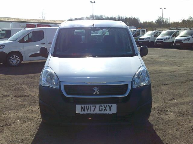 2017 Peugeot Partner L2 715 S 1.6 BLUEHDI 100 CREW VAN EURO 6 * SPEED RESTRICTED TO 70 MPH * (NV17GXY) Image 2