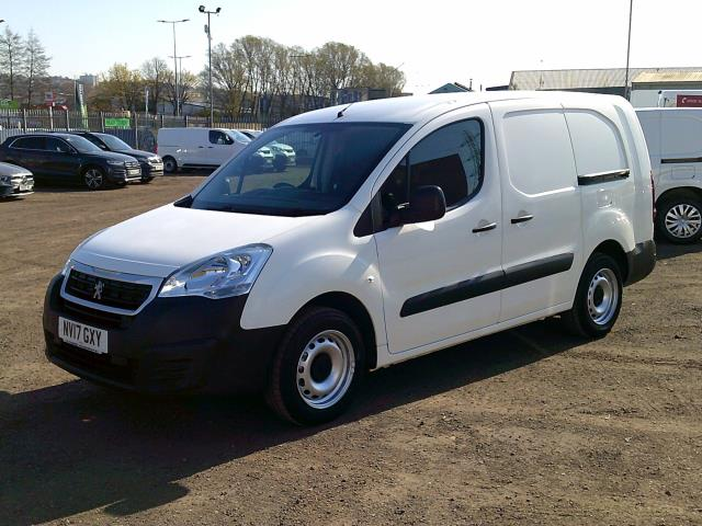 2017 Peugeot Partner L2 715 S 1.6 BLUEHDI 100 CREW VAN EURO 6 * SPEED RESTRICTED TO 70 MPH * (NV17GXY) Image 3