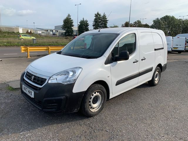 2017 Peugeot Partner L2 715 S 1.6 BLUE HDI 100 CREW VAN EURO 6 * SPEED RESTRICTED TO 70MPH * (NV17HHX) Image 3