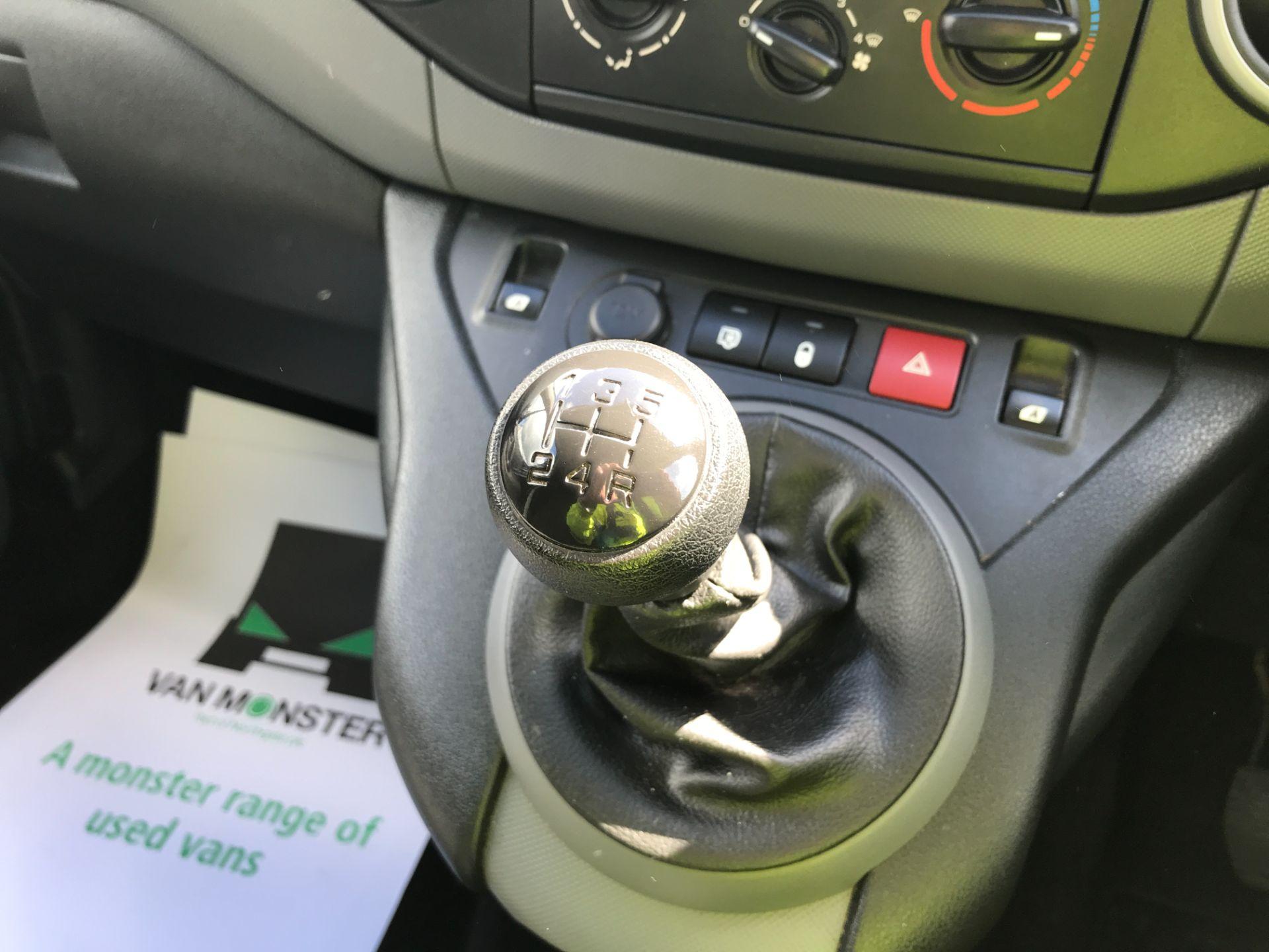 2017 Peugeot Partner L2 715 S 1.6BLUEHDI 100PS CREW VAN EURO 6 (NV17HLG) Image 12