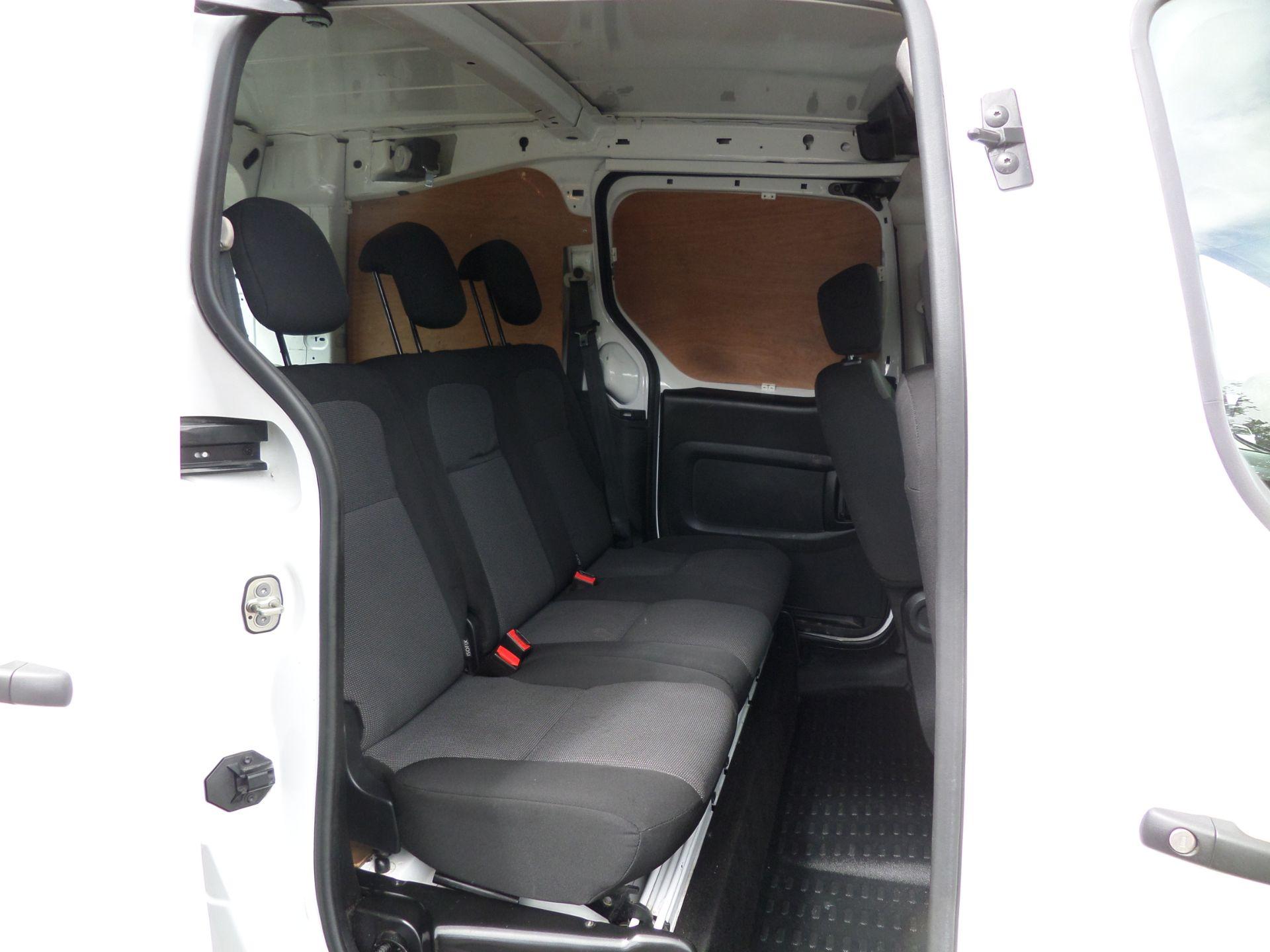 2017 Peugeot Partner 715 S 1.6 Bluehdi 100 Crew Van Euro 6 (NV17LTO) Image 11