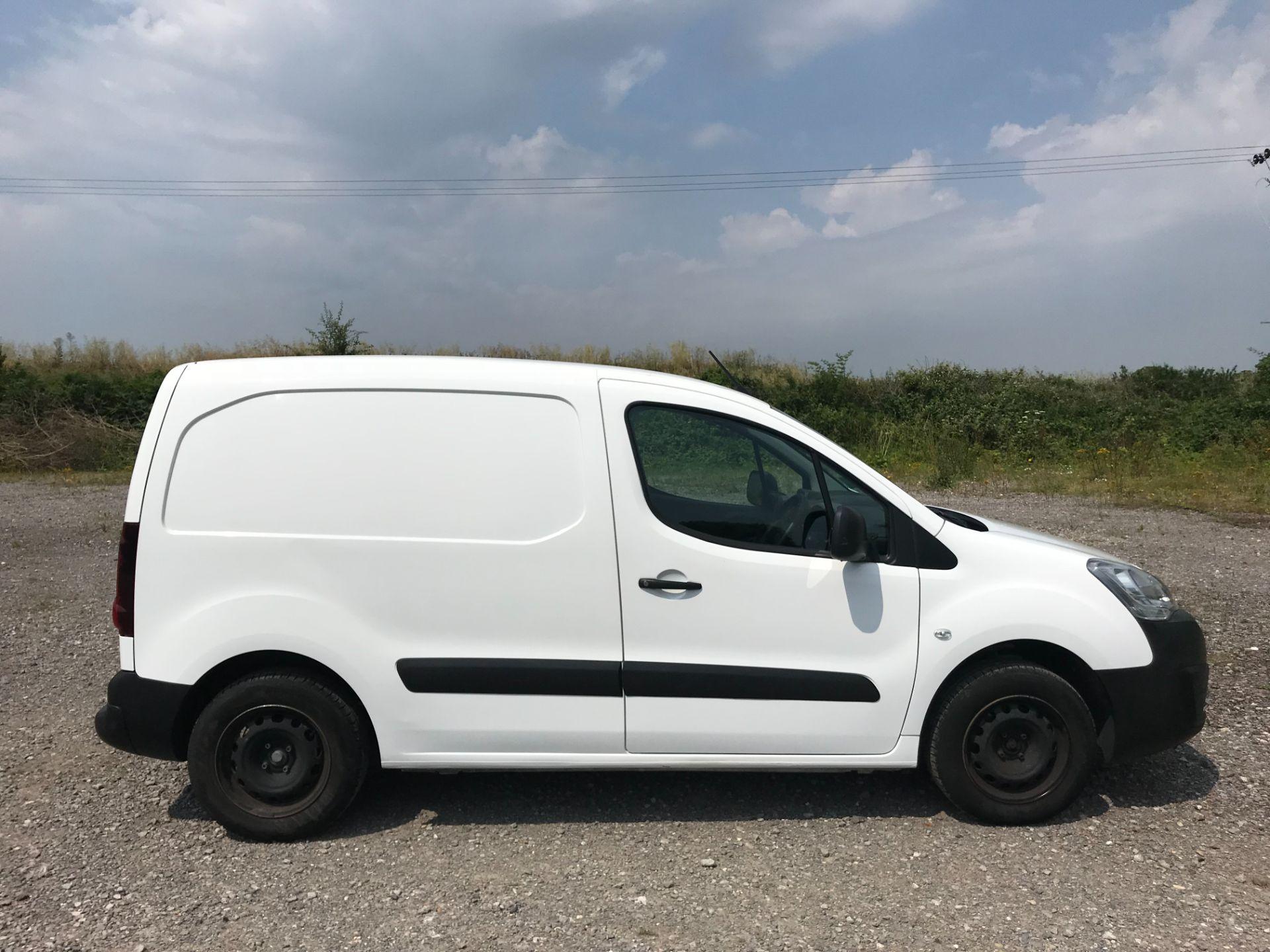 2017 Peugeot Partner 850 1.6 Bluehdi 100 Professional Van [Non Ss] EURO 6 (NV17NZE) Image 7