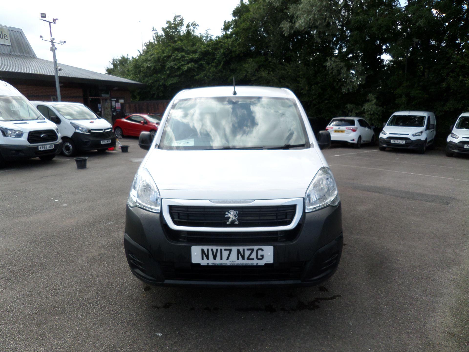 2017 Peugeot Partner 850 1.6 Bluehdi 100 Professional Van [Non Ss] Euro 6 (NV17NZG) Image 10