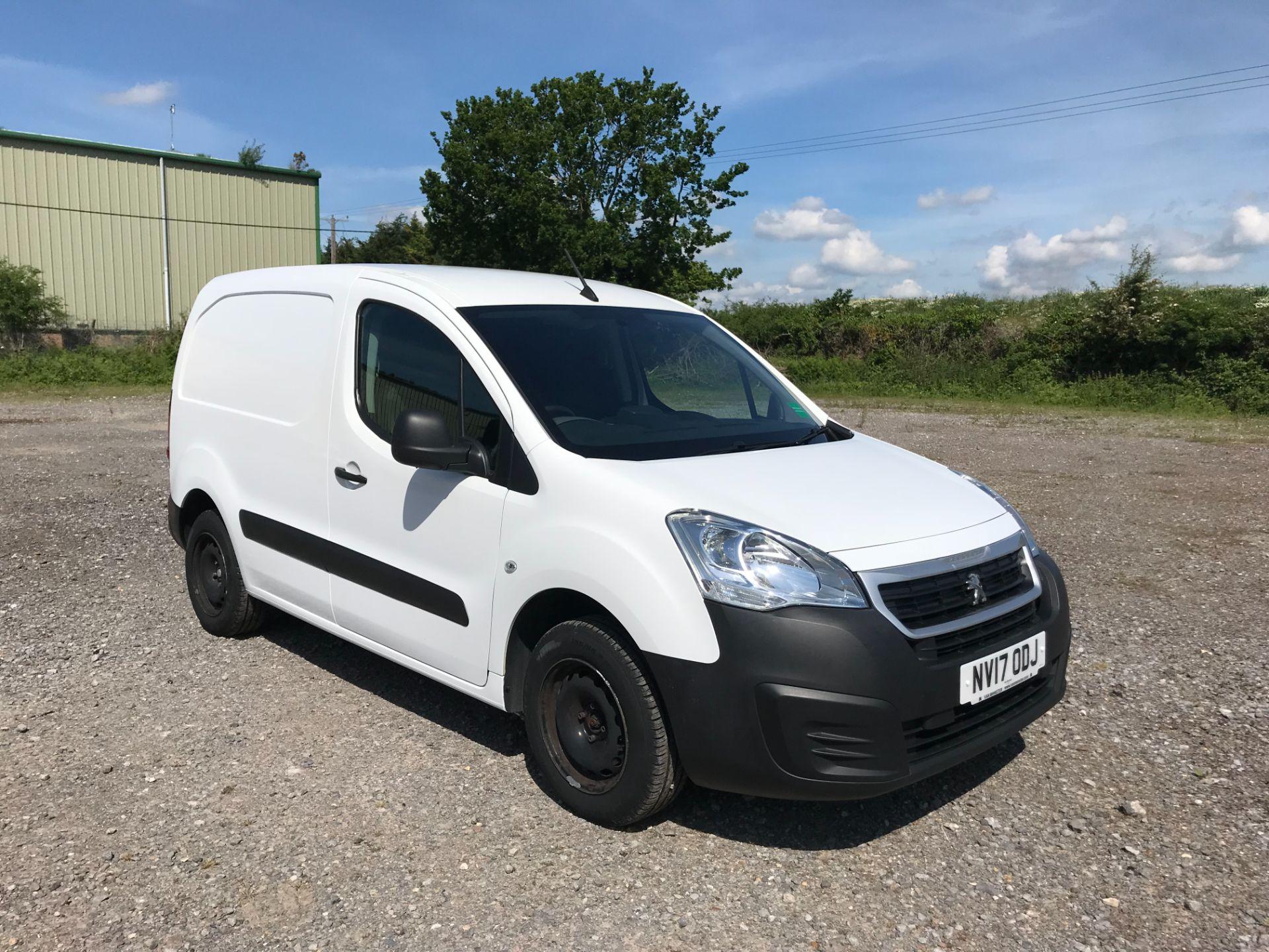 2017 Peugeot Partner 850 1.6 Bluehdi 100 Professional Van [Non Ss] EURO 6 (NV17ODJ)