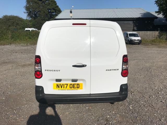 2017 Peugeot Partner 850 1.6 Bluehdi 100 Professional Van [Non Ss] EURO 6 (NV17OED) Image 5