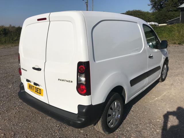 2017 Peugeot Partner 850 1.6 Bluehdi 100 Professional Van [Non Ss] EURO 6 (NV17OED) Image 4